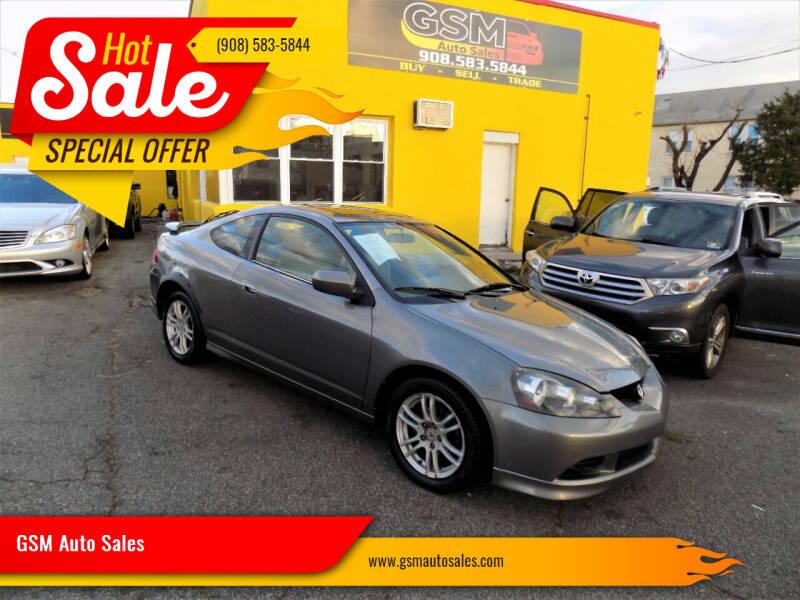 2005 Acura RSX for sale at GSM Auto Sales in Linden NJ