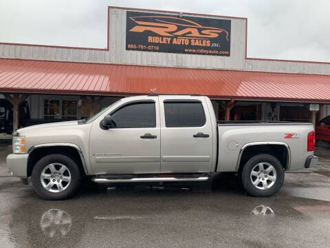 2008 Chevrolet Silverado 1500 for sale at Ridley Auto Sales, Inc. in White Pine TN