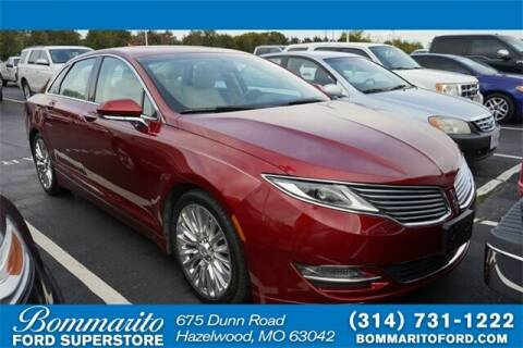 2014 Lincoln MKZ for sale at NICK FARACE AT BOMMARITO FORD in Hazelwood MO
