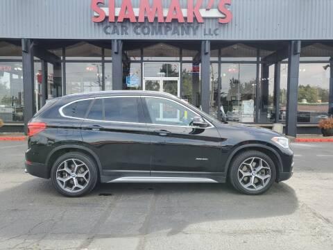 2016 BMW X1 for sale at Siamak's Car Company llc in Salem OR