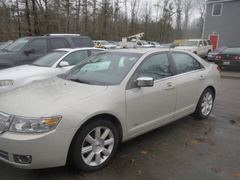 2007 Lincoln MKZ for sale at D & F Classics in Eliot ME