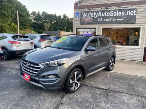 2017 Hyundai Tucson for sale at Variety Auto Sales in Worcester MA