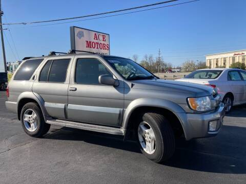 2003 Infiniti QX4 for sale at Ace Motors in Saint Charles MO