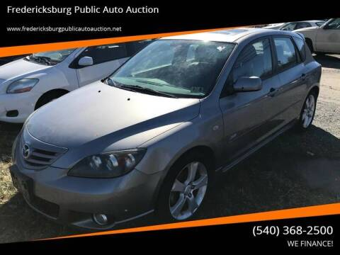 2005 Mazda MAZDA3 for sale at FPAA in Fredericksburg VA