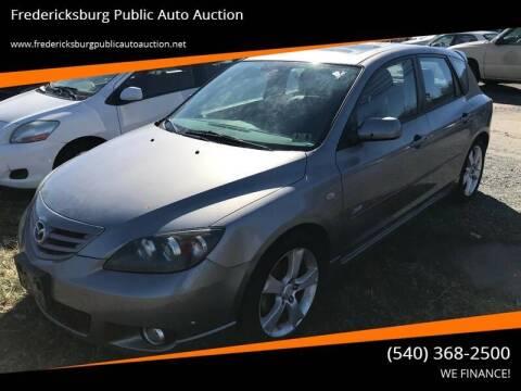 2005 Mazda MAZDA3 for sale at FPAA in Fredericksburg VA