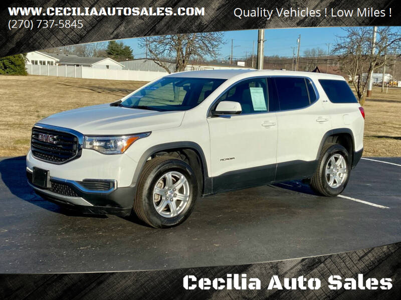 2018 GMC Acadia for sale at Cecilia Auto Sales in Elizabethtown KY
