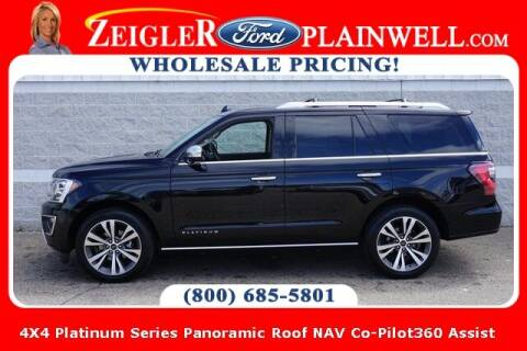 2020 Ford Expedition for sale at Zeigler Ford of Plainwell- Jeff Bishop in Plainwell MI
