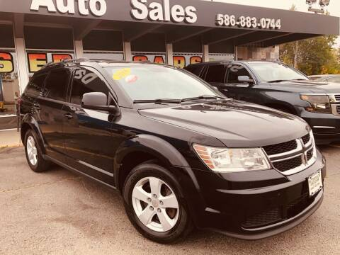 2016 Dodge Journey for sale at Daniel Auto Sales inc in Clinton Township MI