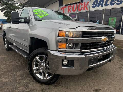 2015 Chevrolet Silverado 3500HD for sale at Xtreme Truck Sales in Woodburn OR