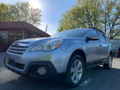 2013 Subaru Outback for sale at D & M Discount Auto Sales in Stafford VA
