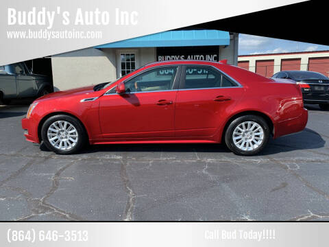 2011 Cadillac CTS for sale at Buddy's Auto Inc in Pendleton, SC