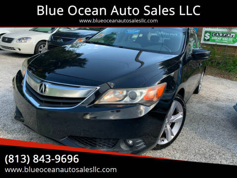 2013 Acura ILX for sale at Blue Ocean Auto Sales LLC in Tampa FL