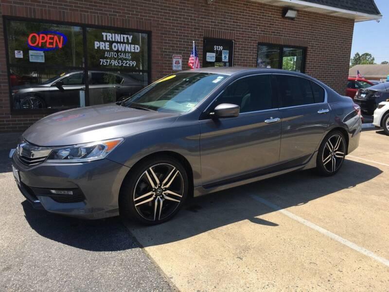 2017 Honda Accord for sale at Bankruptcy Car Financing in Norfolk VA