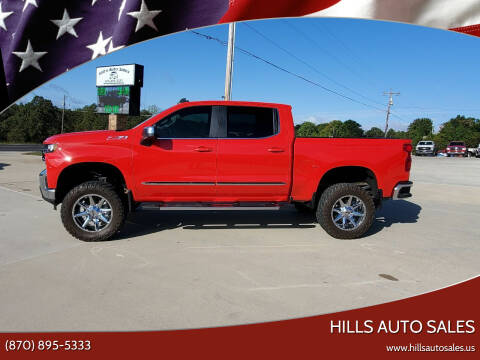 2019 Chevrolet Silverado 1500 for sale at Hills Auto Sales in Salem AR