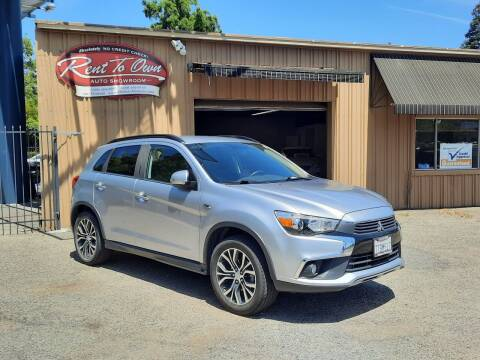 2016 Mitsubishi Outlander Sport for sale at Rent To Own Auto Showroom LLC - Finance Inventory in Modesto CA