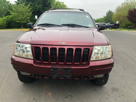 2000 Jeep Grand Cherokee for sale at Dreams Auto Group LLC in Sterling VA