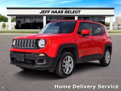 2017 Jeep Renegade for sale at JEFF HAAS MAZDA in Houston TX