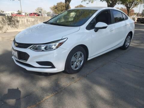 2017 Chevrolet Cruze for sale at Matador Motors in Sacramento CA
