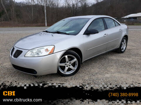 2007 Pontiac G6 for sale at CBI in Logan OH