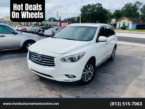 2013 Infiniti JX35 for sale at Hot Deals On Wheels in Tampa FL