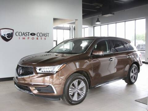 2019 Acura MDX for sale at Coast to Coast Imports in Fishers IN