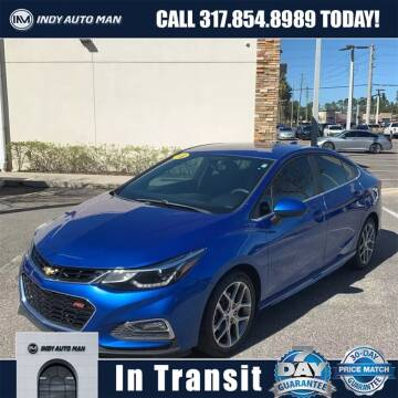 2017 Chevrolet Cruze for sale at INDY AUTO MAN in Indianapolis IN