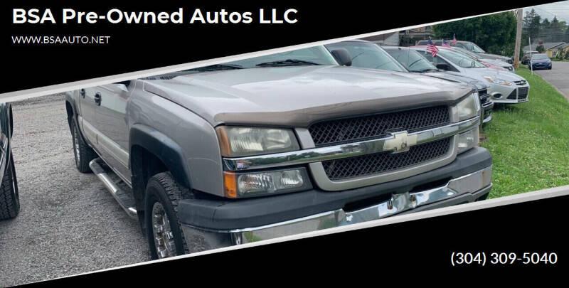 2004 Chevrolet Silverado 1500 for sale at BSA Pre-Owned Autos LLC in Hinton WV