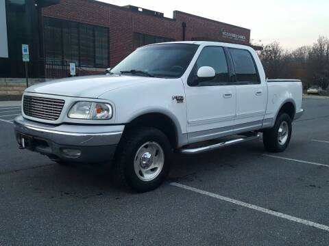 2001 Ford F-150 for sale at Auto Wholesalers Of Rockville in Rockville MD