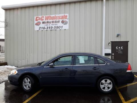 2008 Chevrolet Impala for sale at C & C Wholesale in Cleveland OH
