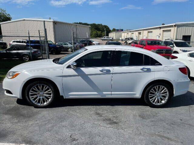2012 Chrysler 200 for sale at Carolina Auto Credit in Youngsville NC