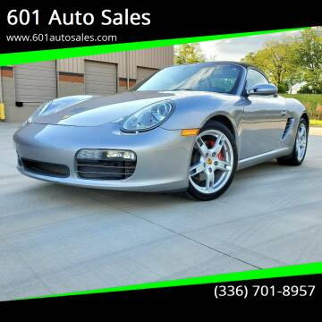 2006 Porsche Boxster for sale at 601 Auto Sales in Mocksville NC