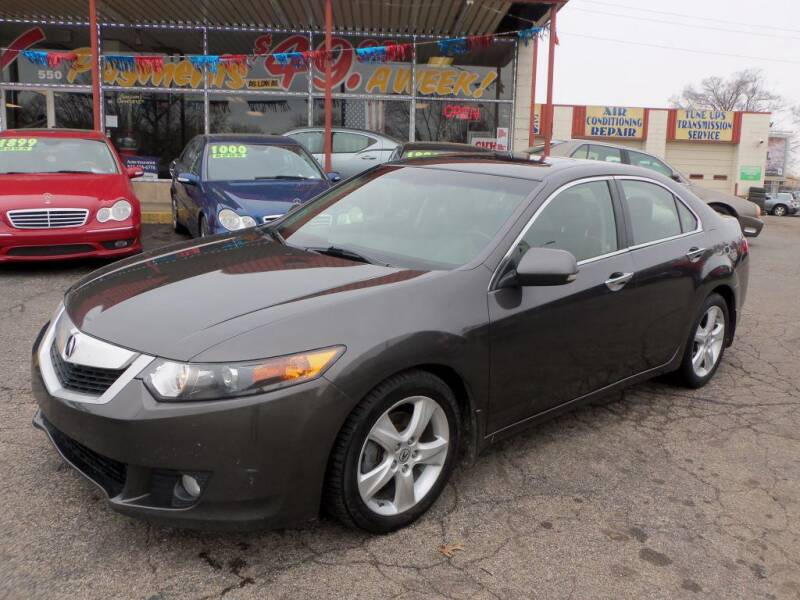 2009 Acura TSX for sale at FIRST CHOICE AUTO Inc in Middletown OH