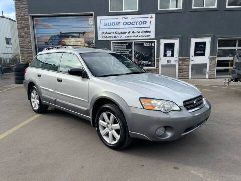 2007 Subaru Outback for sale at The Subie Doctor in Denver CO