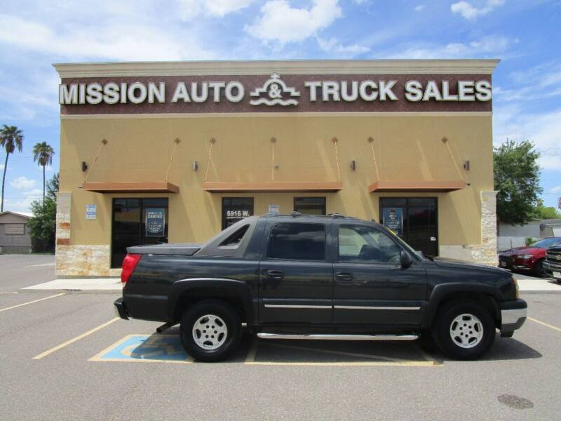 2005 Chevrolet Avalanche for sale at Mission Auto & Truck Sales, Inc. in Mission TX