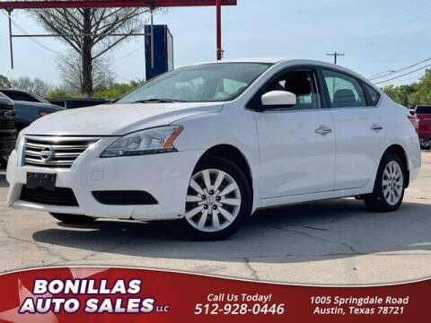 2015 Nissan Sentra for sale at Bonillas Auto Sales in Austin TX