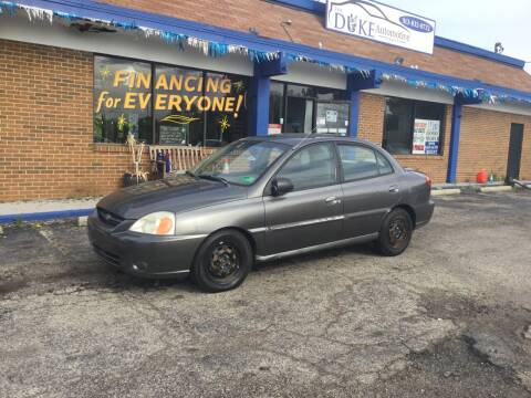 2004 Kia Rio for sale at Duke Automotive Group in Cincinnati OH