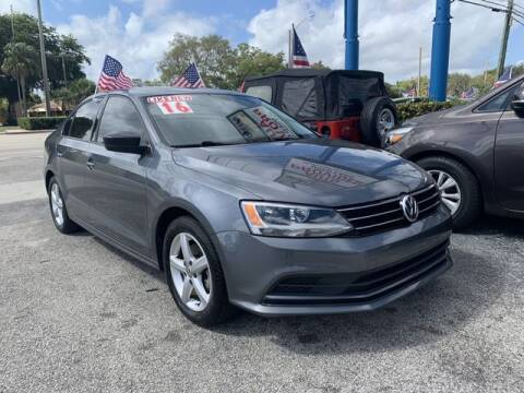 2016 Volkswagen Jetta for sale at AUTO PROVIDER in Fort Lauderdale FL
