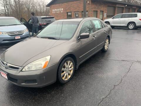 2006 Honda Accord for sale at Superior Used Cars Inc in Cuyahoga Falls OH