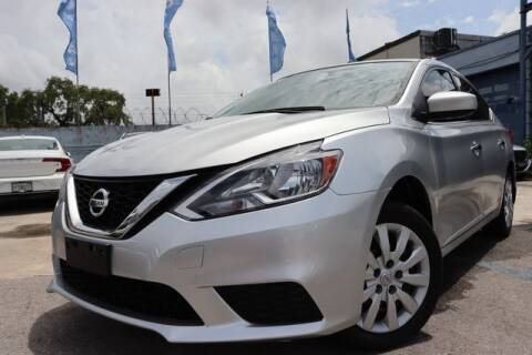 2017 Nissan Sentra for sale at OCEAN AUTO SALES in Miami FL