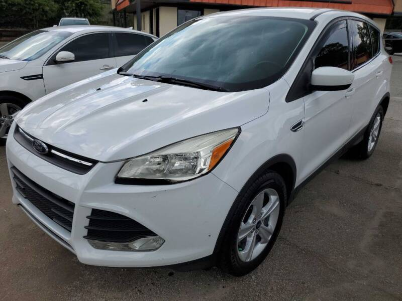 2014 Ford Escape for sale at THE TRAIN AUTO SALES & RENTALS in Taylors SC