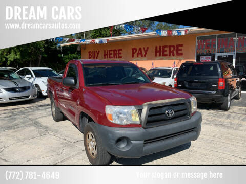 2006 Toyota Tacoma for sale at DREAM CARS in Stuart FL