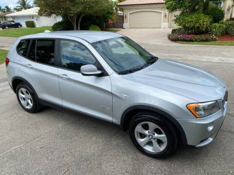 2012 BMW X3 for sale at Exceed Auto Brokers in Lighthouse Point FL