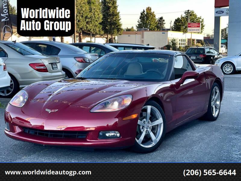 2008 Chevrolet Corvette for sale at Worldwide Auto Group in Auburn WA