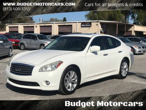 2011 Infiniti M37 for sale at Budget Motorcars in Tampa FL