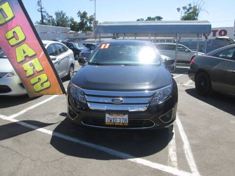 2011 Ford Fusion Hybrid for sale at Best Deal Auto Sales in Stockton CA