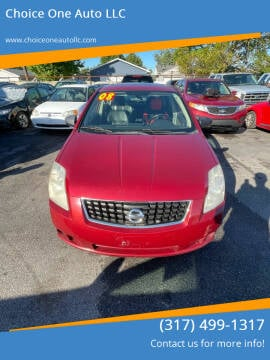 2008 Nissan Sentra for sale at Choice One Auto LLC in Beech Grove IN