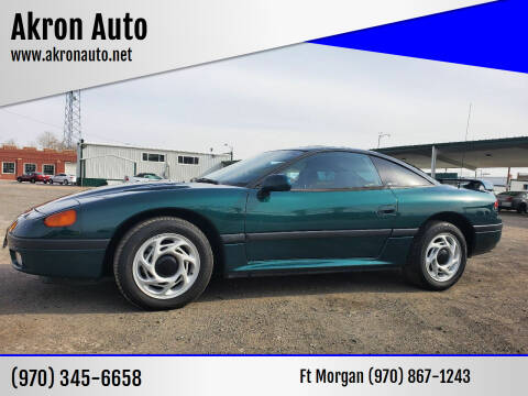 1992 Dodge Stealth for sale at Akron Auto in Akron CO