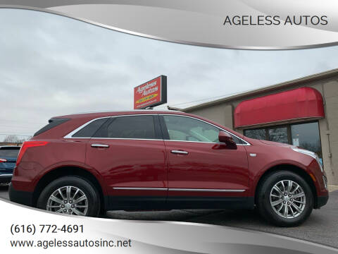 2018 Cadillac XT5 for sale at Ageless Autos in Zeeland MI