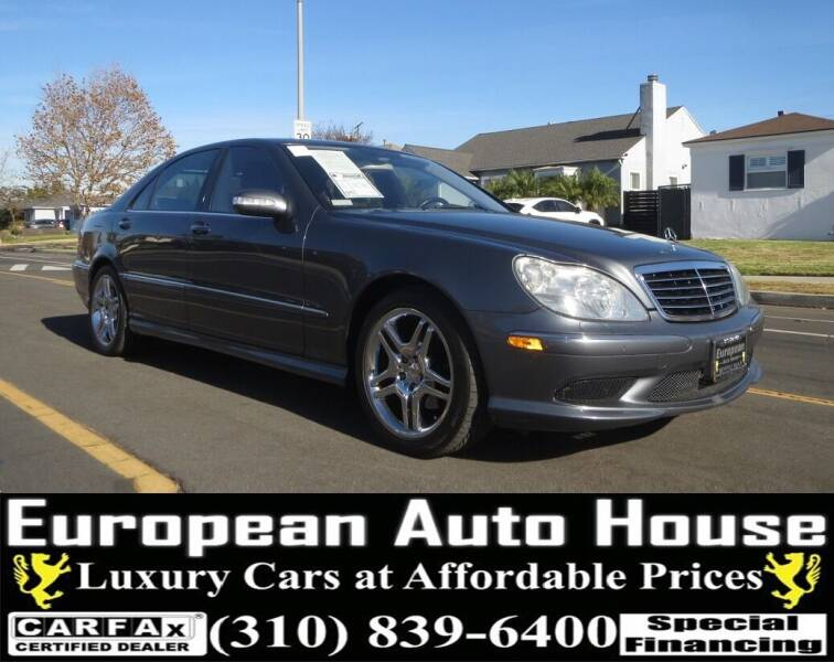 2006 Mercedes-Benz S-Class for sale at European Auto House in Los Angeles CA