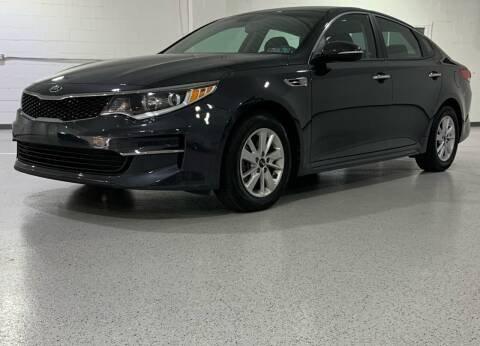 2017 Kia Optima for sale at Hamilton Automotive in North Huntingdon PA